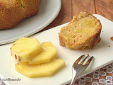 Ciambella all'ananas con cereali e yogurt