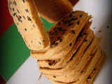 Baked Mexican Multi-grain Crackers/ Puri