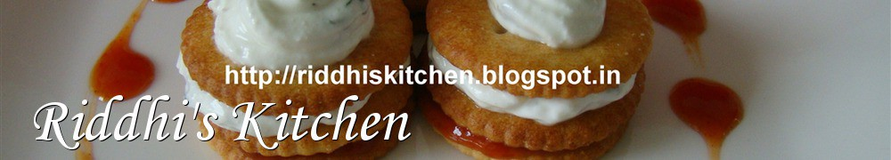 Very Good Recipes - Riddhi's Kitchen