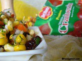 Corn Cranberry Chaat