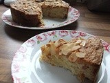 American Apple & Apricot Cake