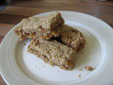 Apricot and Walnut Sandwich Bars