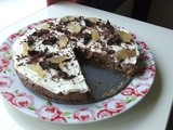 Chocolate, Brandy and Ginger Cheesecake