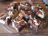 Chocolate Chip and Vanilla Marble Cake