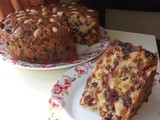 Cranberry and Apricot Fruit Cake