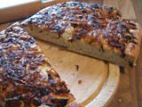 Focaccia Bread with Onion and Balsamic Topping