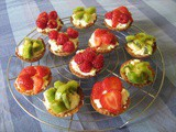 Glazed Fruit Tartlets