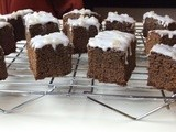 Iced Gingerbread with Stem Ginger