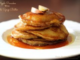 Apple Pancakes With Date Syrup Butter