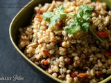 Barley Pulao ~ Diabetic Friendly Recipe