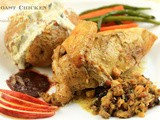 Best of rr ~ Christmas Special! Roast Chicken with Bread & Giblet Stuffing