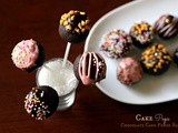 Cake Pops ~ Chocolate Cake Fudge Balls