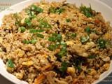 Chicken Fried Rice ~ When The Hubby Cooks
