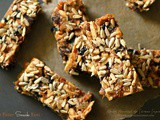 Dry Fruit Snack Bars ~ No Added Sugar