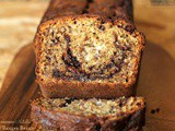 Multigrain Nutella Swirled Banana Bread