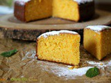 Orange and Olive Oil Cake ~ Using whole oranges
