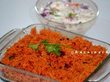 Beetroot Rice | Kids Lunch Box Menu