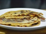 Dates Stuffed Chapathi | Special Dates Paratha