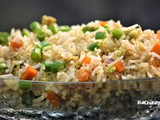 Egg Fried Rice | Kids lunch box Rice