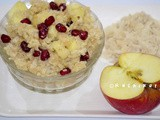 Flattened Rice with Curd and Fruits | Weight loss recipe with beaten rice and Yogurt