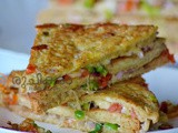 Special Bread Layered Sandwich | Special Bread Sandwich
