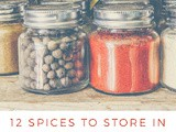 12 Spices to store in the kitchen for simple Indian cooking