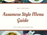 An Easy Assamese Style Vegetarian Menu Guide For Mother's Day