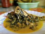 Assamese style Fish recipe with Ceylon Spinach, Modhuxulung and cheery tomatoes