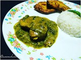 Fish Curry with Colocasia and Black Pepper