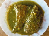Fish curry with sessile joyweed (maati kaduri)