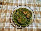 Fish curry with Spinach (2)