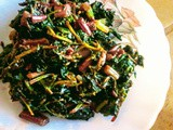 Mixed leafy vegetables xaak