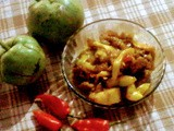 Pork with elephant apple and ghost chilli (bhoot jolokia)