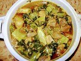 Pork with mustard greens (Lai xaak)