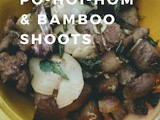 Pork with po-hoi-hom and bamboo shoots