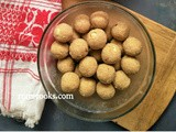 Semolina and Coconut Ladoo | Suji and Coconut Ladoo