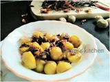 Stir Fried Baby Potatoes with Titaphool