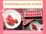 Watermelon Ice Cubes Recipe