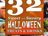 32 Sweet and Savory Halloween Treats & Drinks