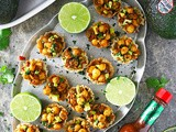 Avocado Chickpea Cups