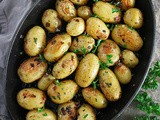 Cast-iron Garlic Herb Potatoes