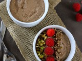 Chocolate Coconut Chia Smoothie Bowl