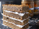 Easy Date Almond Butter Bars