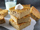 Easy Gluten-Free Pumpkin Cake Bars