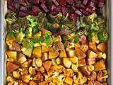 Easy Sheet Pan Roasted Veggies