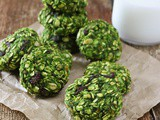Green Smoothie & Muesli Breakfast Cookies