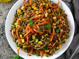 Lemon Sesame Vegetable Saute With Green Giant Veggie Spirals