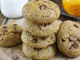 Orange Chocolate Chip Protein Cookies