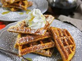 Pumpkin Pie Waffles