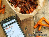 Salted, Chocolate-Drenched, Spicy, Sweet Potato Fries